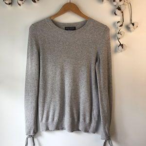 Banana Republic Filpucci Italian Wool Gray Sweater